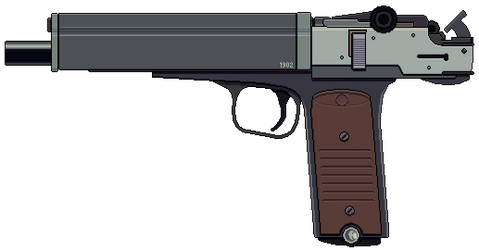 10mm Machine Pistol