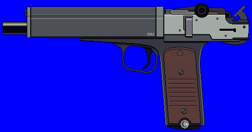 10mm Machine Pistol by Ruiner3000