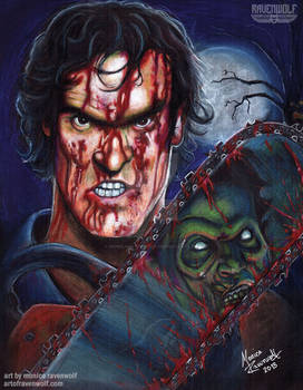 WHO'S LAUGHING NOW!! Ash (Evil Dead)
