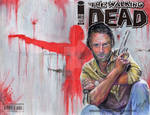 RICK GRIMES - The Walking Dead (Sketch Cover)