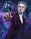 12th Doctor (Peter Capaldi) by MonicaRavenWolf