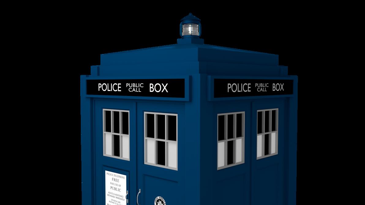 TARDIS 3D Model Update by MichaelTzan