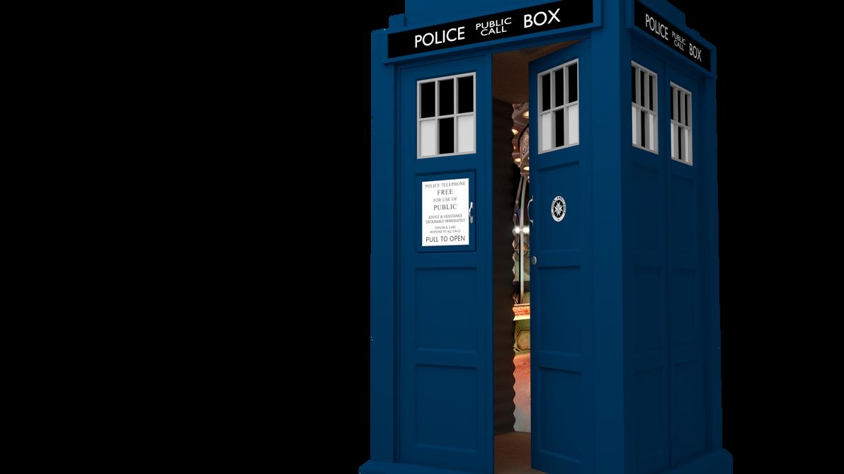 TARDIS 3D Model Update - Interior by MichaelTzan