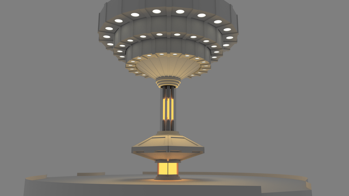 TARDIS Console Room 3D Model Update [2K] by MichaelTzan