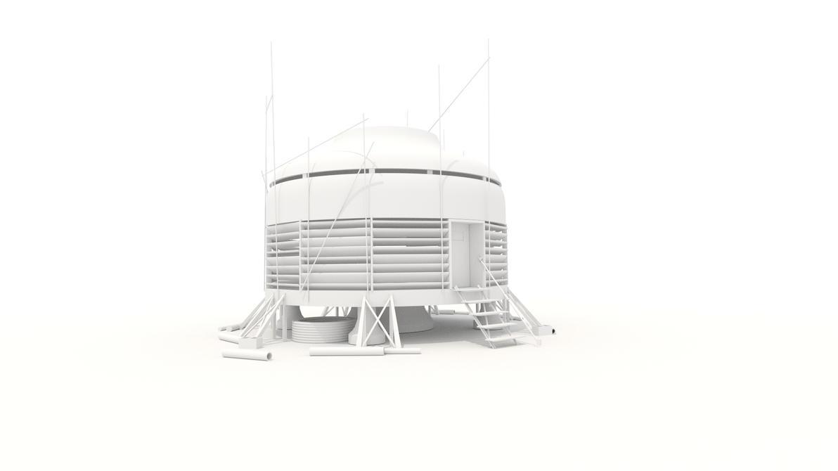 Mirror's Edge - Merc's Lair 3D Model by MichaelTzan