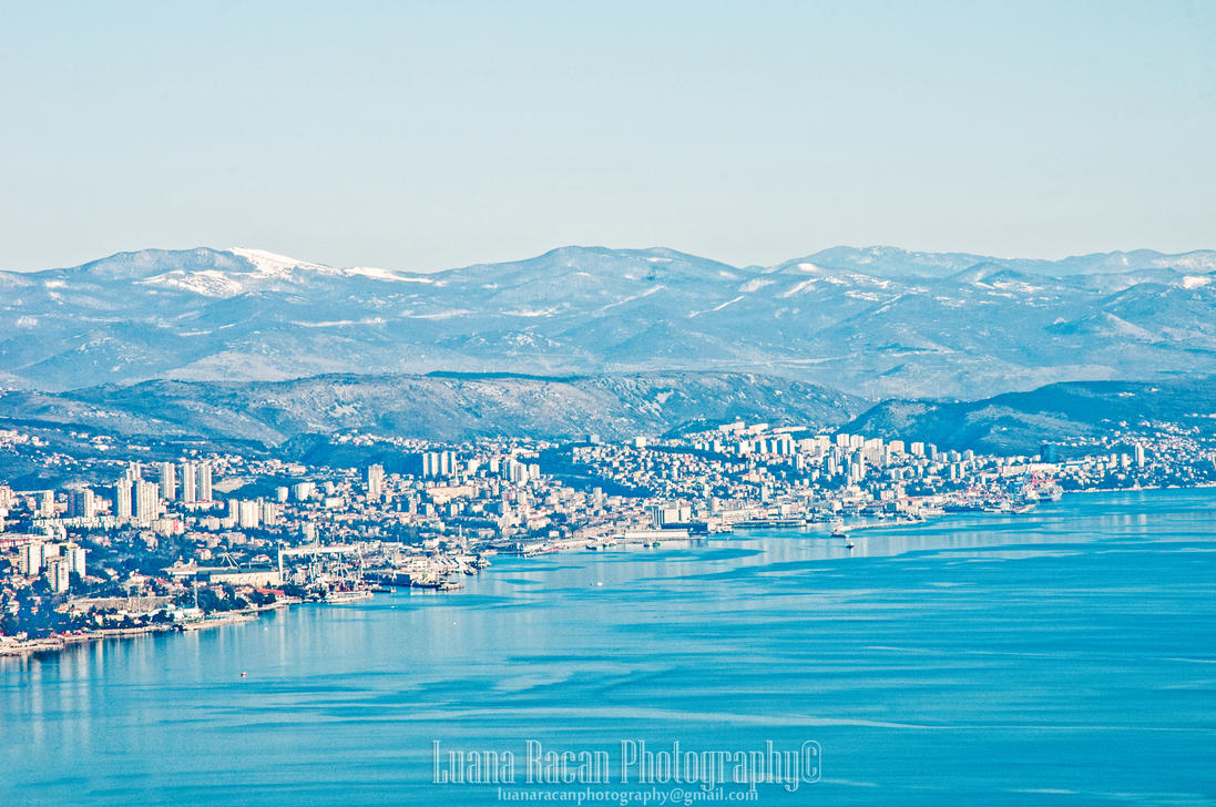 Rijeka viewpoint by LuanaRPhotography