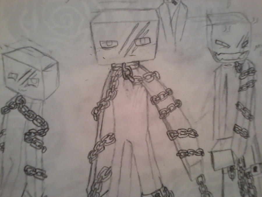 Enderman OC sketch by BrokenWingsOfLight on DeviantArt