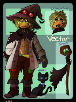 Vector the Scare-Lantern [2016 Reference] by BrokenWingsOfLight