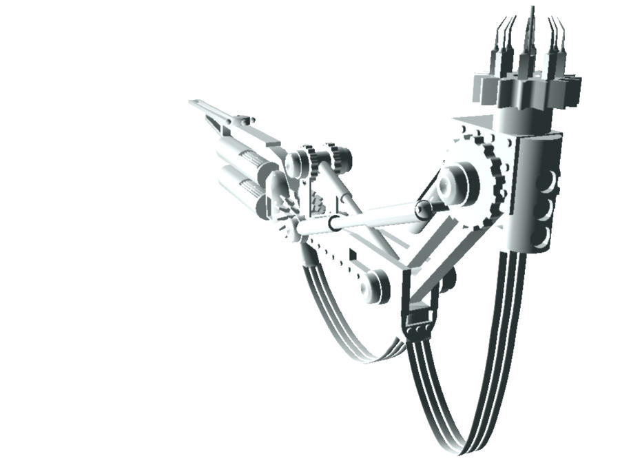 how to build a mechanical arm