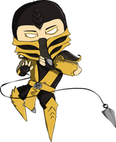 Mini Scorpion by SourSticker