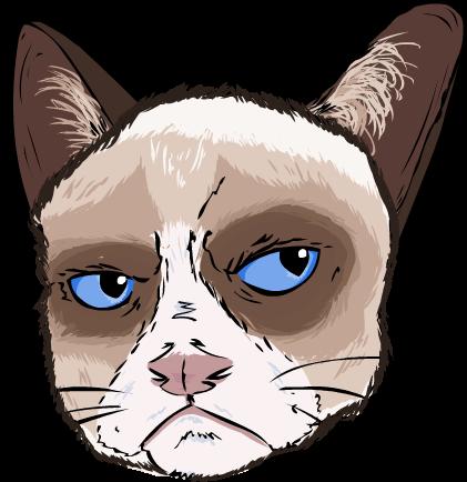 Grumpy Cat not Amused by SourSticker on DeviantArt