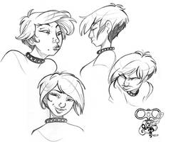 Character face model sheet 3 by IriusAbellatrix