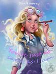 Luna Lovegood by IriusAbellatrix