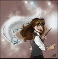 Patronus Hermione by IriusAbellatrix