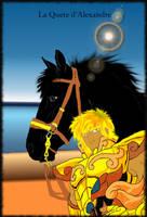 Saint Seiya _ quete du chevalier du lion by Akarisnape