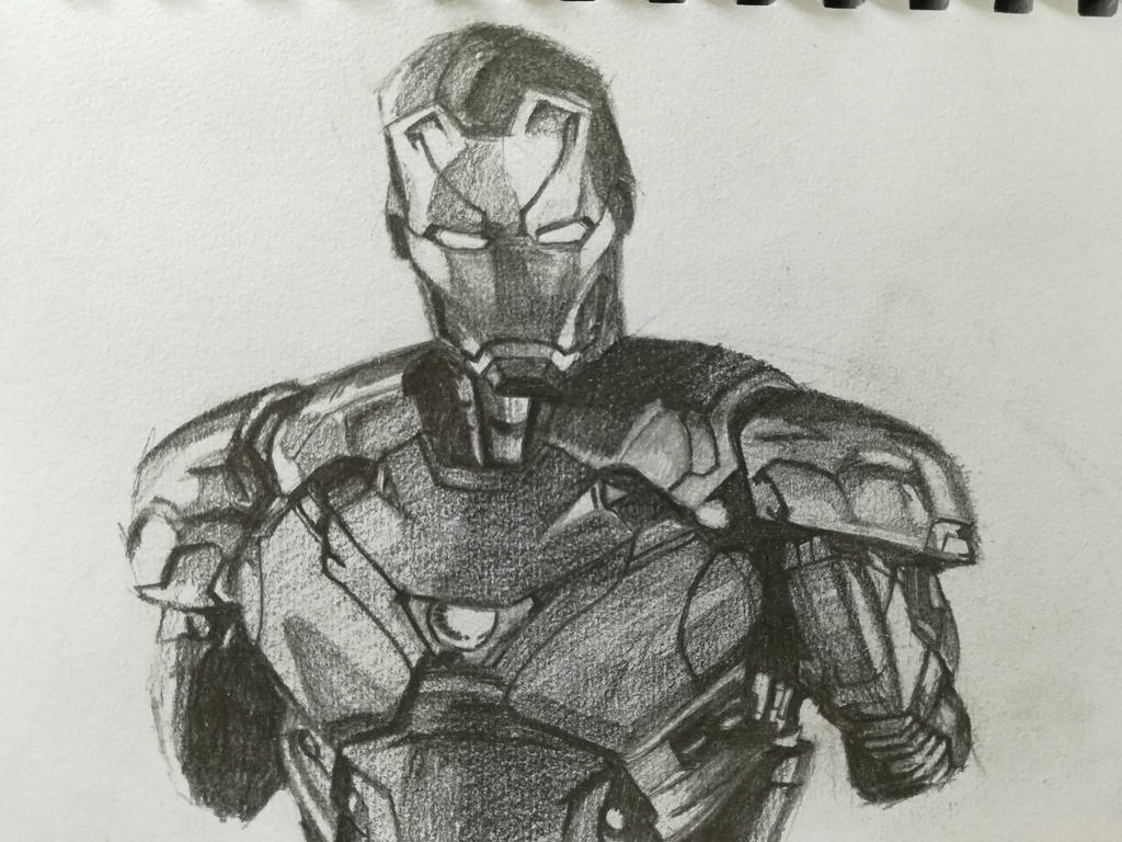 Iron man by Andrix9743