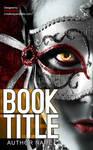 vampire girl premade book cover