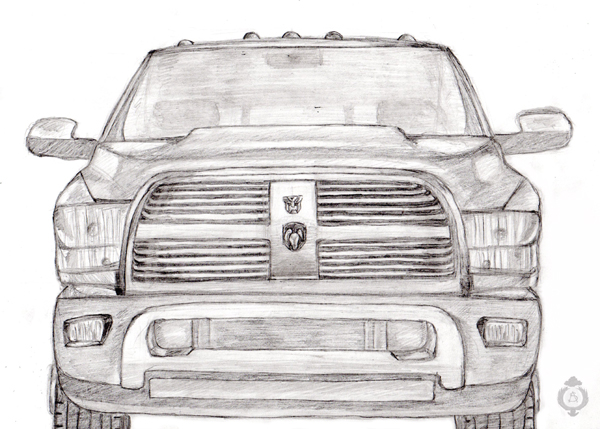 Traction Dodge Ram H D 2010 By Sheppard56