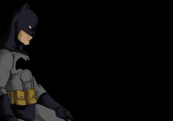 Batman... speedpaint? by dalf-rules