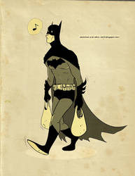 Batman buys groceries by dalf-rules