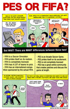 PES or FIFA?