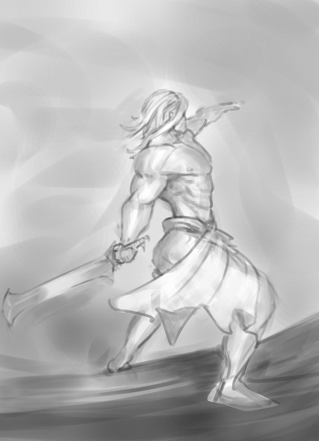 [Image: man_throwing_sword_into_orbit_sketch_by_...sDHSg3JuVw]
