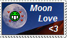 Moon Lover Stamp by FlameSalvo