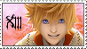 Roxas Stamp by FlameSalvo