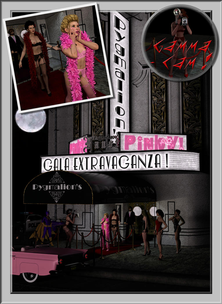 Pinky3's Grand Debut Gala! by pygfaust