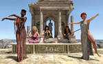 Aphrodite, Euterpe and Terpsichore 2 by pygfaust