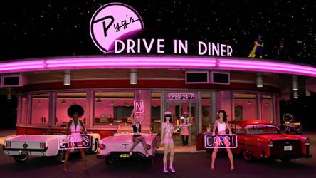Girls 'n' Cars! by pygfaust