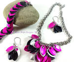 Scale maille Jewelry Set by My-Timeout