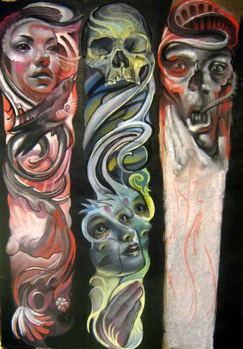 sleeve sketches by nailone