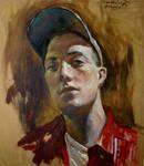 Selfportrait in cap