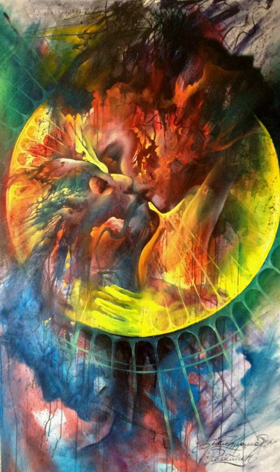 Toxic kiss by nailone