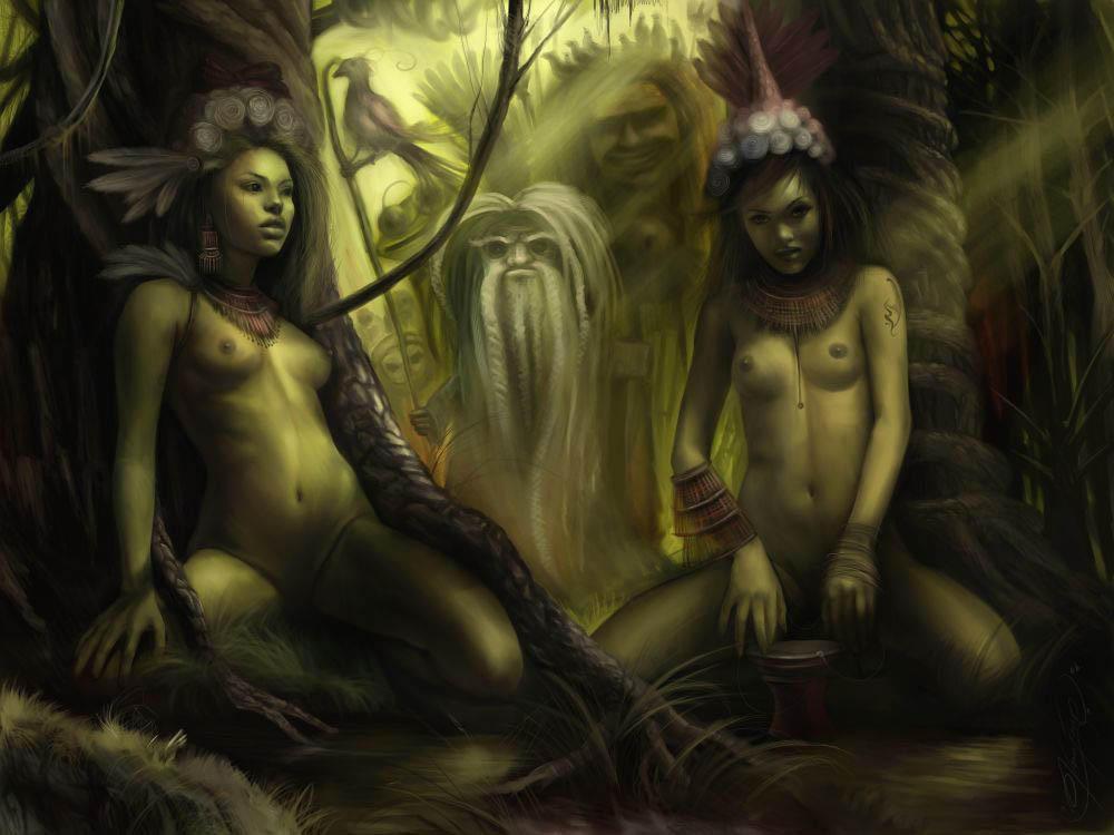 Shaman tribe by nailone