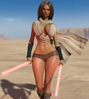 Darth Big-tits are out hunting. by Danila9000