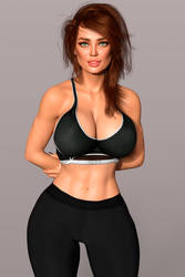 New Girl:Fitness Trainer Samantha!