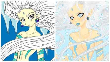 Ice Goddess Comparison by The-Ravulture