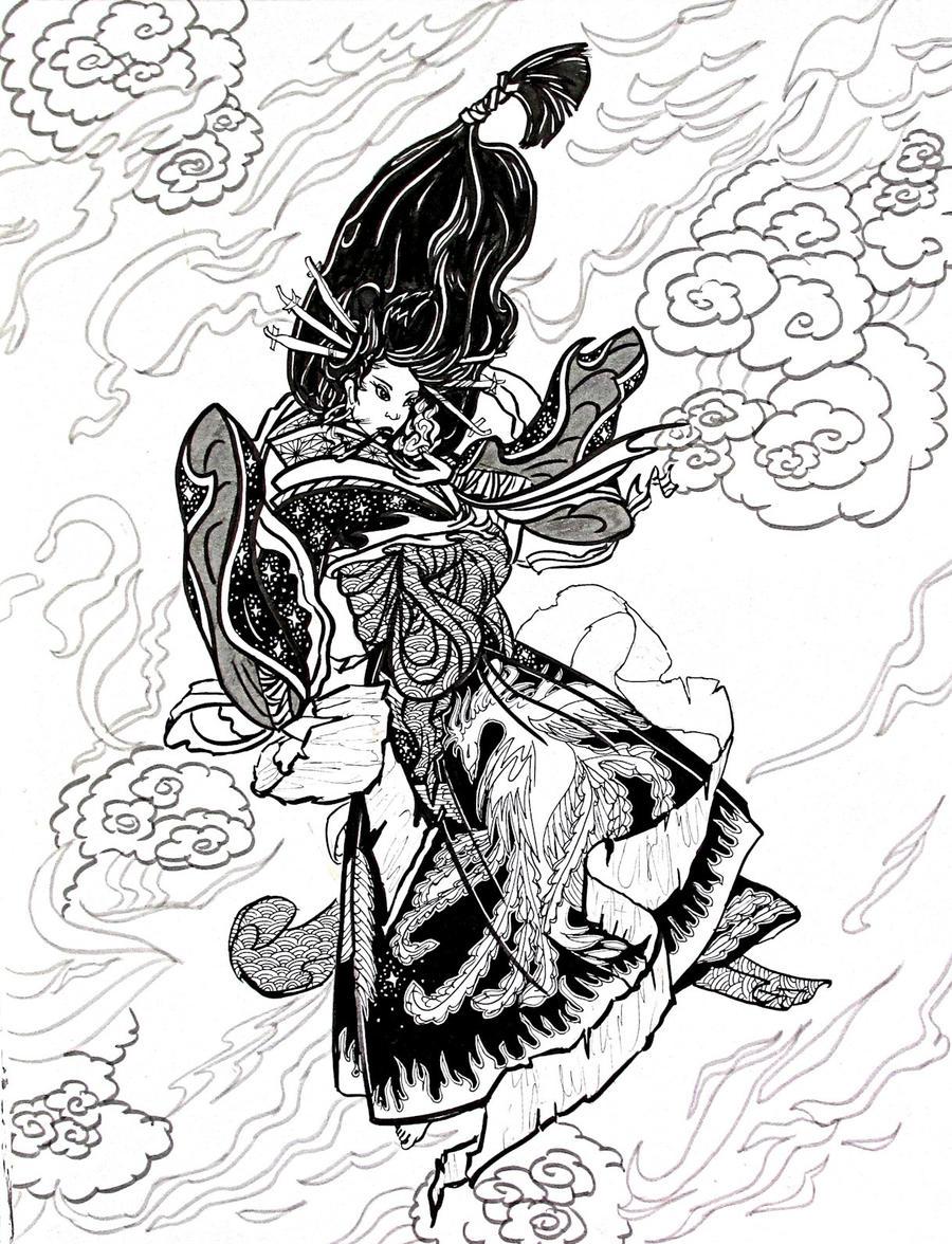 Shugenja by AnneCooper