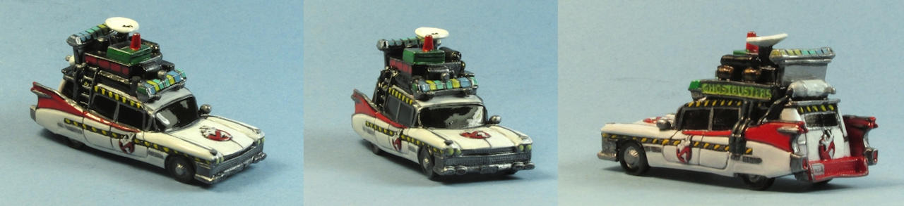 Ghostbusters 2 car