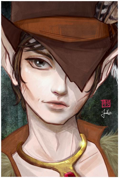 Scouter Portrait by Jisel