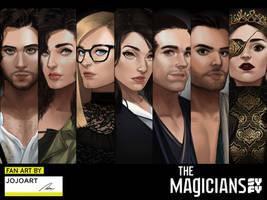 The Magicians Fan Art Contest by JojoPloy