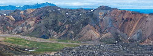 Iceland-Landmannalaugar-wide-06 by Dashka-bird