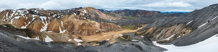 Iceland-Landmannalaugar-wide-07 by Dashka-bird