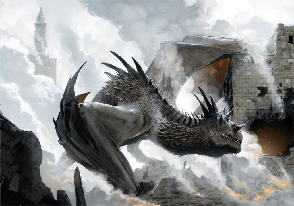 Dragon by chasestone