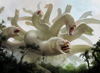 Primordial Hydra MTG by chasestone