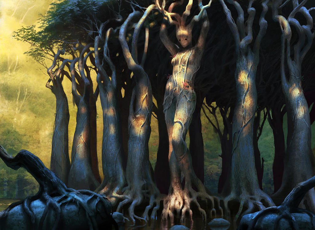 Sylvan caryatid by chasestone on deviantart for Syvlan