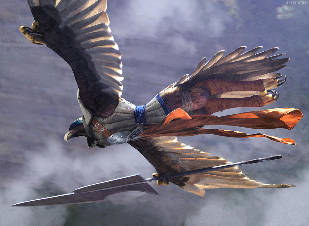 Sage-Eye Harrier by chasestone
