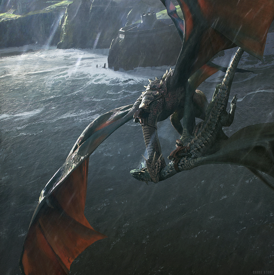 the deaths of Prince Lucerys and his dragon by chasestone